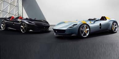 Ferrari greift mit Monza SP1 & SP2 an