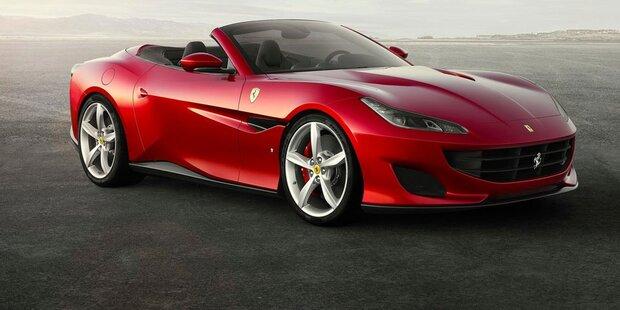Portofino: Neuer Einstiegs-Ferrari mit 600 PS