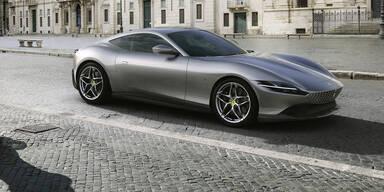 Neues V8-Coupé Ferrari Roma
