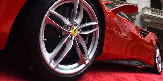 Ferrari verzeichnet Rekordquartal