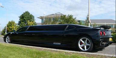 Weltweit erste Ferrari-Stretch-Limousine