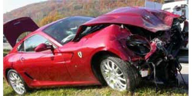 Fiat-Chef fuhr Ferrari zu Schrott
