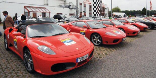 Millionenkrimi um Ferraris