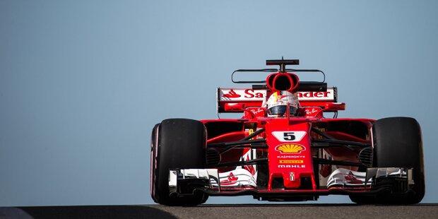 Vettel bei Tests mit Ausrufezeichen