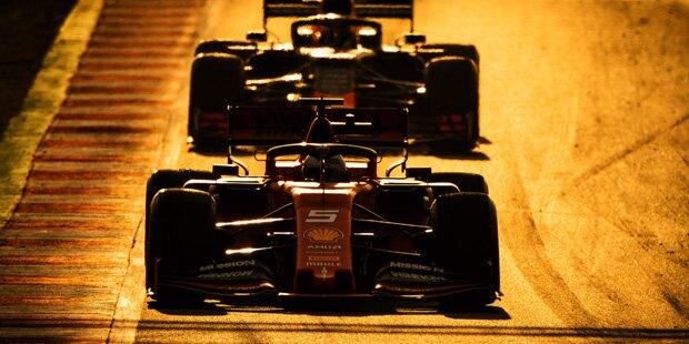 Bestzeit: Vettel hängt Hamilton ab