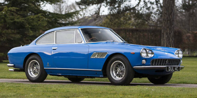 John Lennons Ferrari wird versteigert