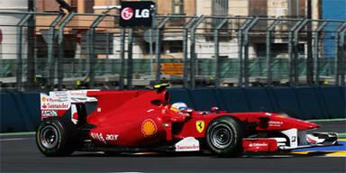 Alonso beherrscht freies Training