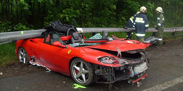 Welser zerstört Ferrari auf der A9