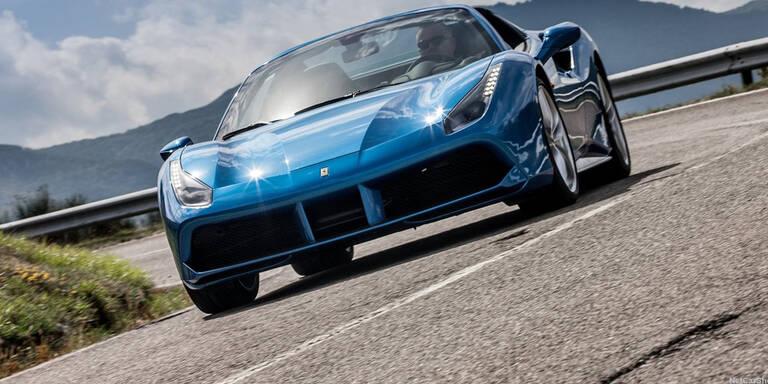 488-Reihe beflügelt Ferrari