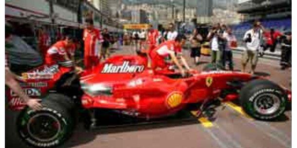 Null Tabakwerbung in Formel-1