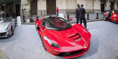 Ferrari jetzt auch an Mailänder Börse