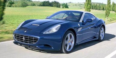 Ferrari verpasst dem California ein Facelift