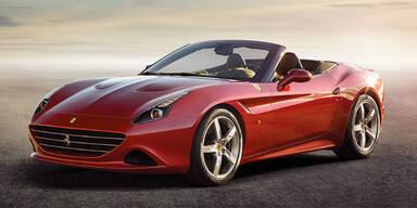 Weltpremiere des Ferrari California T