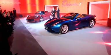 Ferrari zeigt California T mit Google-Brille