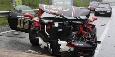 Horror-Crash bei Gumball 3000 Rallye