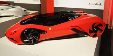 So sehen die Ferraris der Zukunft aus