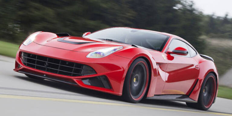 Ferrari F12 Berlinetta von Novitec Rosso