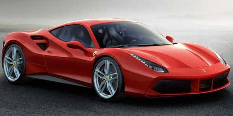 Ferrari lässt den F488 GTB von der Leine