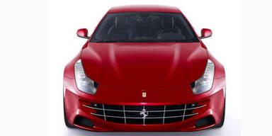 Erste Fotos vom viersitzigen Ferrari FF