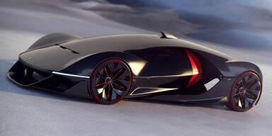 So sieht der Ferrari der Zukunft aus