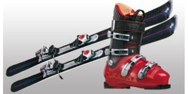Ferrari präsentierte komplettes Ski-Set