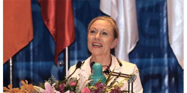 Ferrero-Waldner soll zur UNESCO wechseln