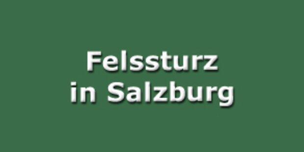 Felssturz in Salzburg