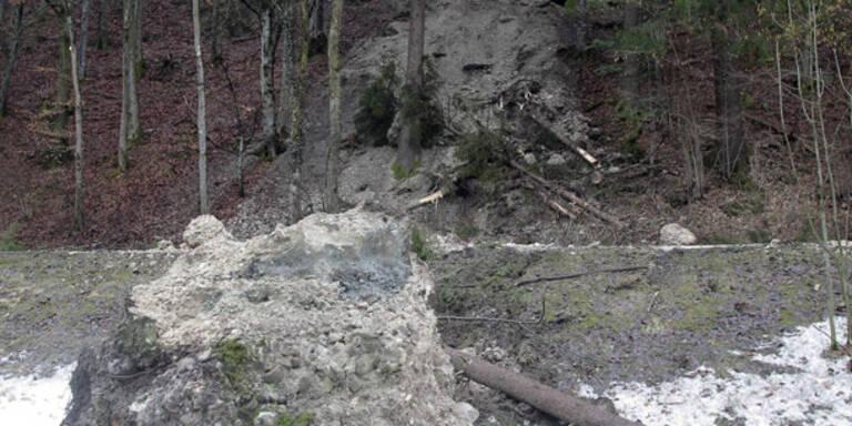 Felssturz im Tennengau - Keine Verletzten