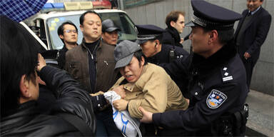 Festnahmen in Shanghai (Archivbild)