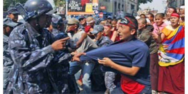 Haftstrafen wegen Tibet-Unruhen