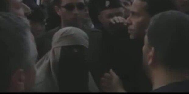 Burka-Trägerinnen in Paris verhaftet