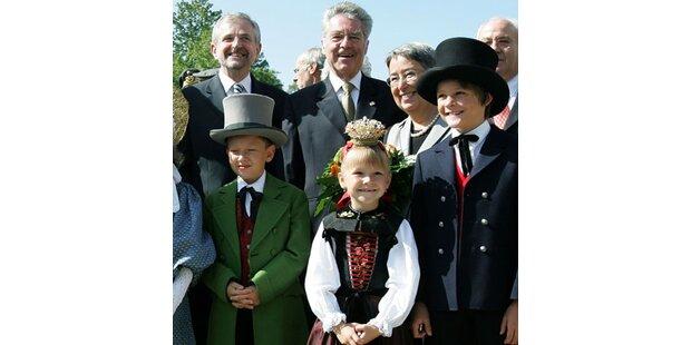Fischer eröffnete Bregenzer Festspiele