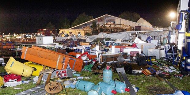 Festzelt eingestürzt: Zahl der Verletzten auf 120 gestiegen