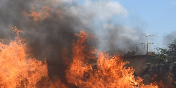 Türkei: Menschen wurden lebend verbrannt