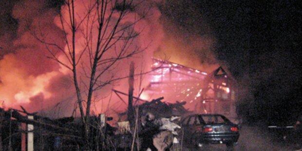 Großbrand bei Mautner Markhof