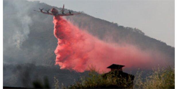 Kalifornien brennt schon wieder