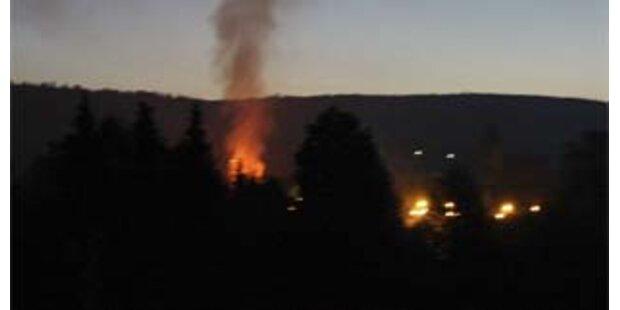 Mutter und Kind starben bei Hotelbrand