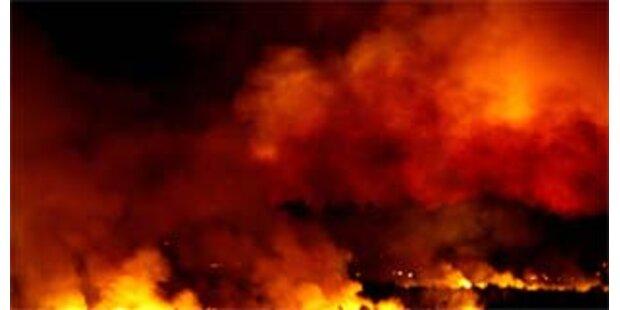 400 Raketen explodieren in russischem Waffenlager