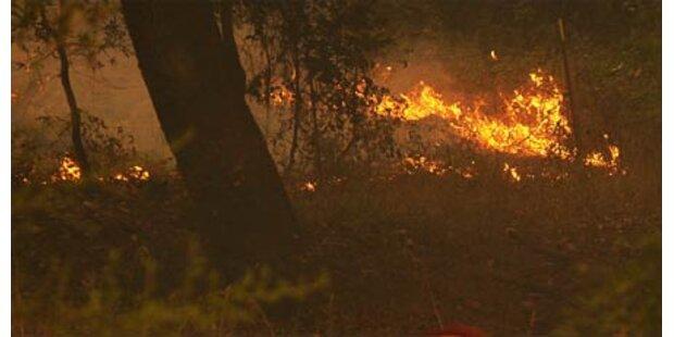 Wieder Feuersbrunst in Kalifornien