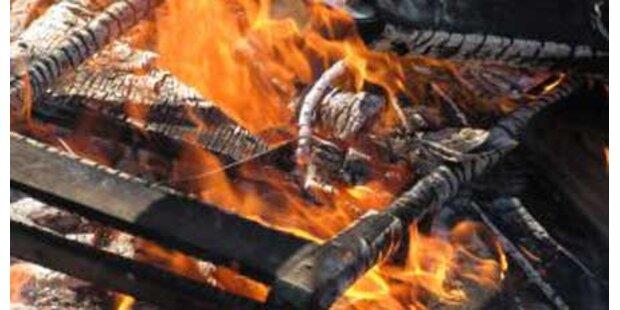 Zwei Kinder in Deutschland verbrannt