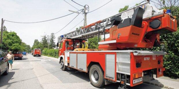 Vater rettet seine Familie aus Flammen