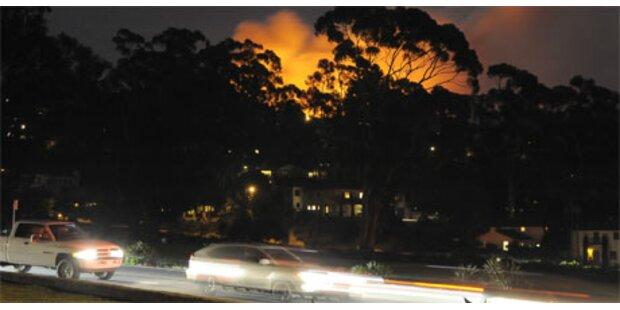 Waldbrand in Kalifornien noch nicht im Griff