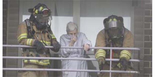 200 Menschen aus brennendem Altersheim gerettet