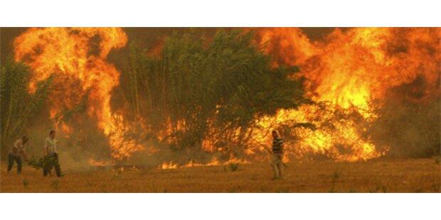 Feuersbrunst in Anttalya fordert zwei Tote