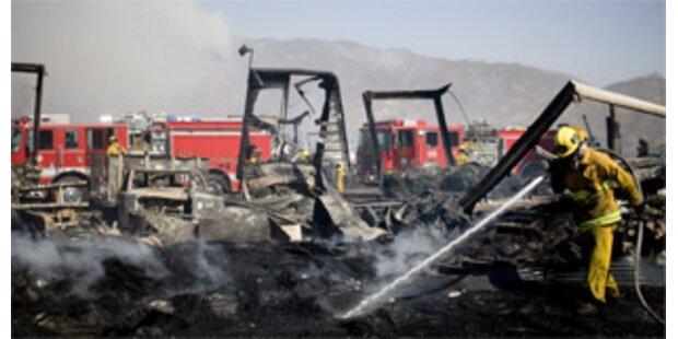 Ein Toter bei Waldbränden in Kalifornien gefunden
