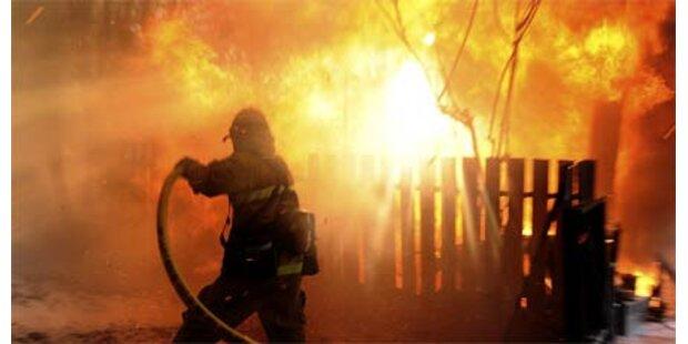 Buschbrände in Kalifornien wüten weiter