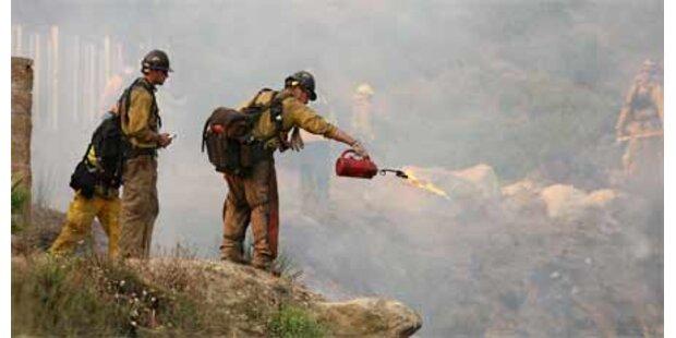 Fortschritte bei Brandbekämpfung in LA