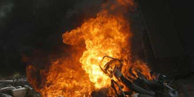 Wohnhausbrand in Kalkutta: 19 Tote