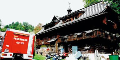 Feueralarm in denkmalgeschütztem Haus