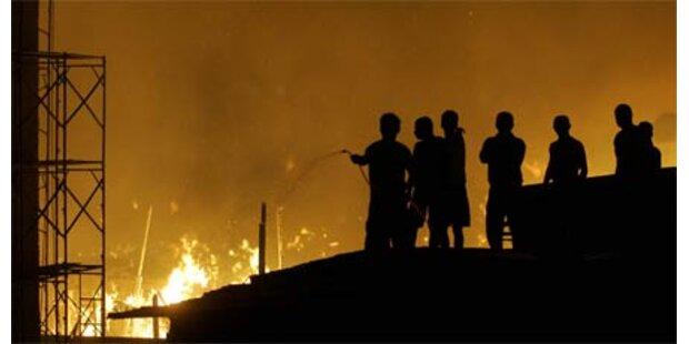 Verheerender Brand im Elendsviertel